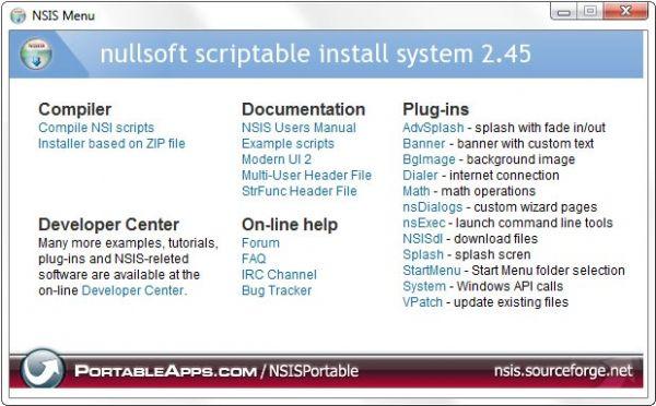 Vorschau NSIS Portable - Bild 1