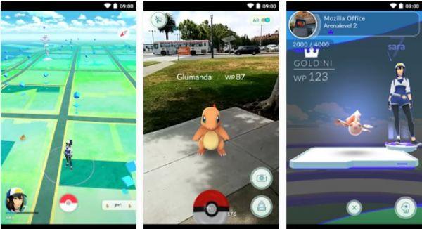 Vorschau Pokemon Go für Android - Bild 1