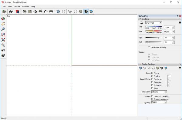 Vorschau SketchUp Viewer - Bild 1