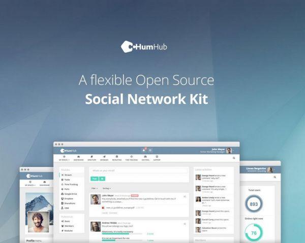 Vorschau HumHub - Social Network Kit - Bild 1