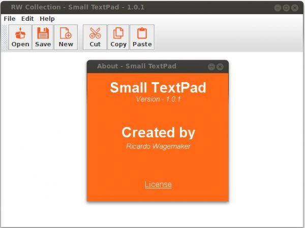 Vorschau SmallTextPad - Bild 1