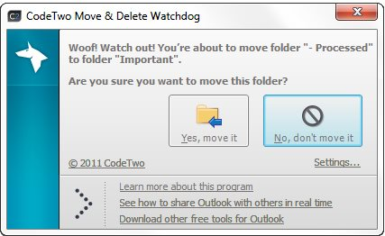Vorschau CodeTwo Move and Delete Watchdog - Bild 1