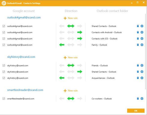 Vorschau Outlook4Gmail - Bild 1