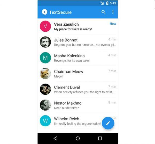 Vorschau Signal für Android - Bild 1