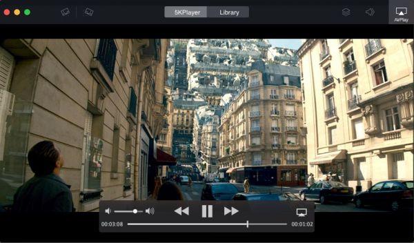 Vorschau 5KPlayer für Mac - Bild 1