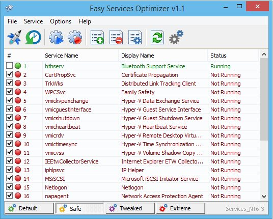 Vorschau Easy Services Optimizer - Bild 1