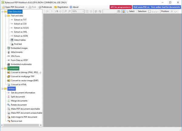 Vorschau ByteScout PDF Multitool - Bild 1