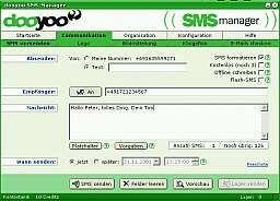 Vorschau dooyoo SMS-Manager - Bild 1