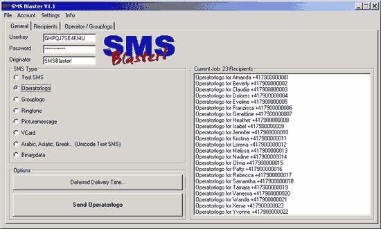 Vorschau SMS Blaster - Bild 1