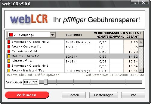 Vorschau webLCR - Bild 1