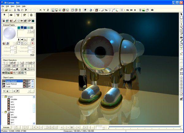 Vorschau 3DCrafter vorher 3D Canvas - Bild 1