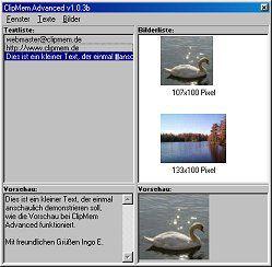 Vorschau ClipMem Advanced 1.04b - Bild 1