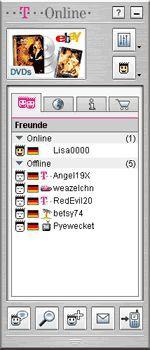 Vorschau T-Online Messenger - Bild 1