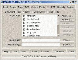 Vorschau HTMLDOC 1.8.23 - Free Version - Bild 1