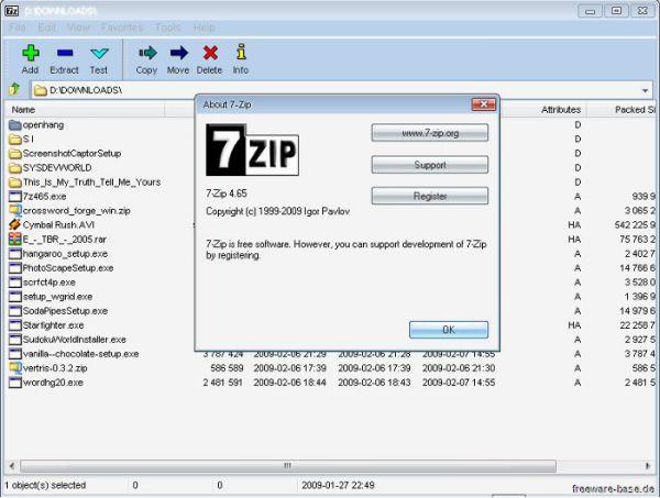 Vorschau 7-Zip - Bild 1