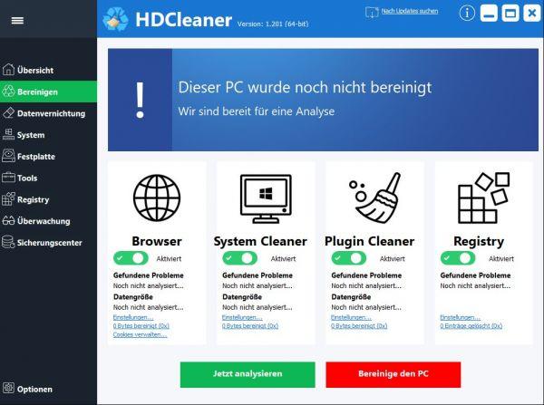 Vorschau HDCleaner - Bild 1