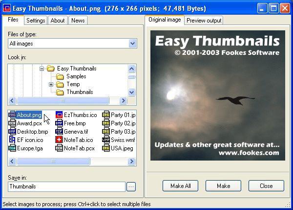 Vorschau Easy Thumbnails - Bild 1