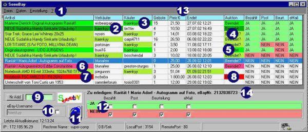 Vorschau SeeeBay 1.59 - Bild 1