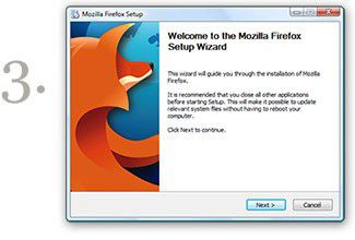 Vorschau Mozilla Firefox for Windows English - Bild 1