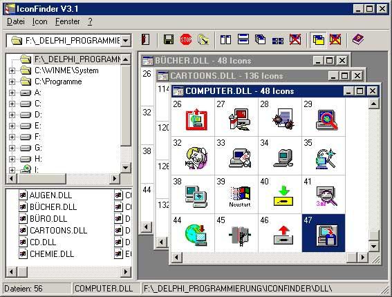 Vorschau Konso IconFinder 3.1 - Bild 1
