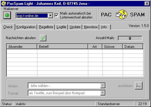 Vorschau PacSpam Light - Bild 1