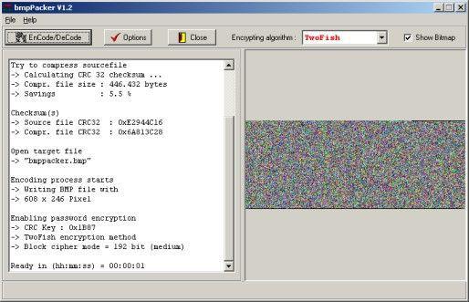 Vorschau bmpPacker 1.1 - Bild 1