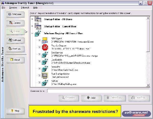 Vorschau Ashampoo StartUp Tuner 1.31 - Bild 1