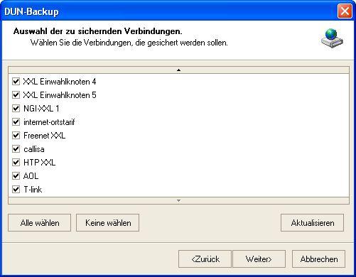 Vorschau DUN-Backup - Bild 1