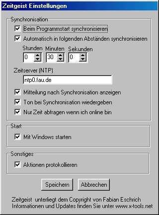 Vorschau Zeitgeist 0.8.6 - Bild 1