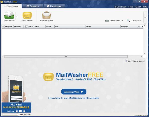 Vorschau Mailwasher Free - Bild 1