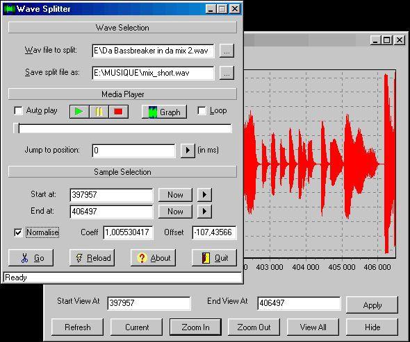 Vorschau Wave Splitter 2.10 - Bild 1