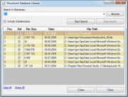 Vorschau Thumbnail Database Cleaner