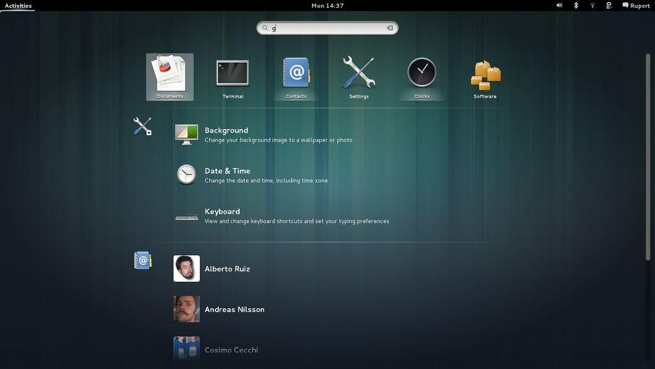 Vorschau GNOME - Bild 2