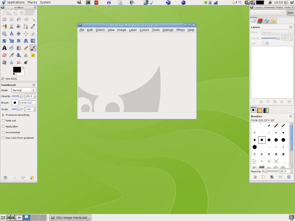 Vorschau The Gimp for Linux - Bild 2
