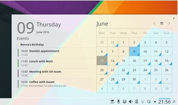 Vorschau KDE Plasma - Bild 2