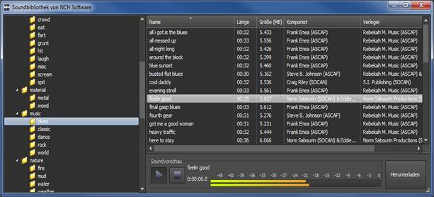Vorschau Wavepad Kostenloser Audio-Editor - Bild 2