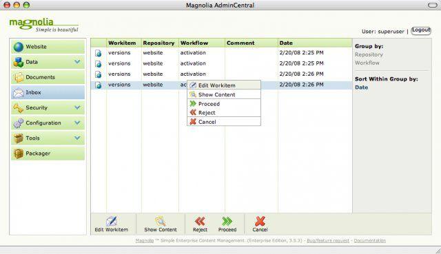 Vorschau Magnolia Content Management System - Bild 2