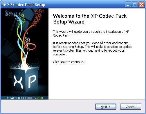 Vorschau XP Codec Pack - Bild 2
