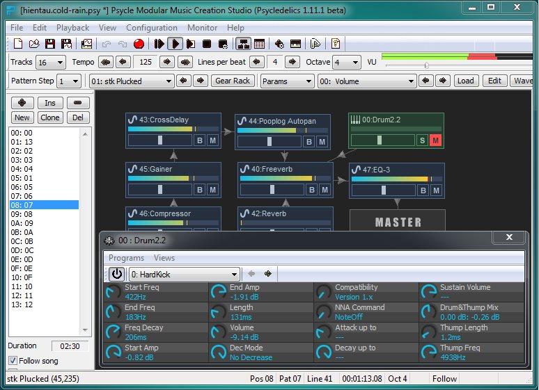 Vorschau Psycle Modular Music Creation Studio - Bild 2