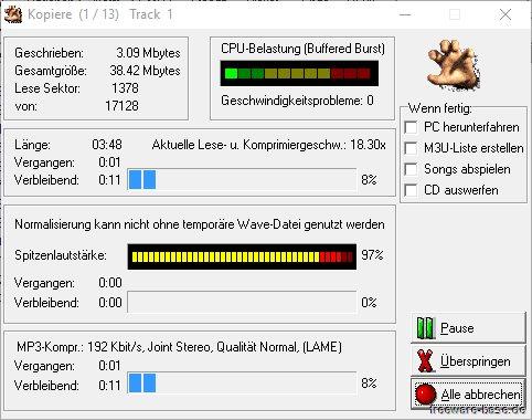 Vorschau Audiograbber - Bild 2