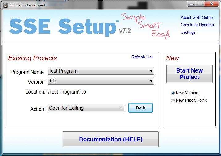 Vorschau SSE Setup - Bild 2