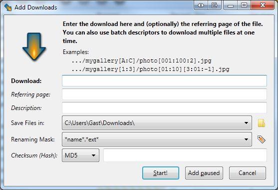 Vorschau DownThemAll for Firefox - Bild 2