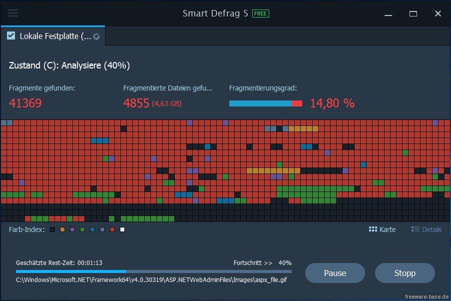 Vorschau IObit Smart Defrag - Bild 2