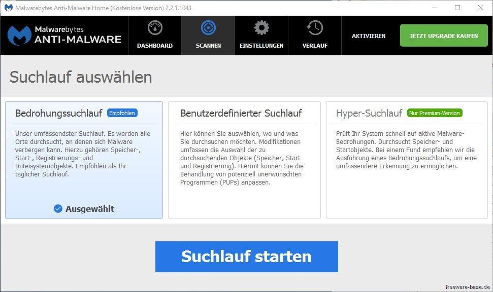 Vorschau SUPERAntiSpyware Free Edition - Bild 2