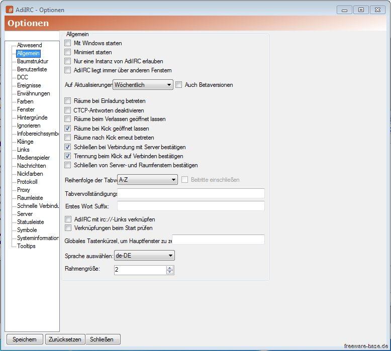 Vorschau AdiIRC - Internet Relay Client - Bild 2