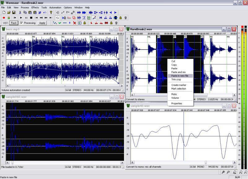 Vorschau Wavosaur audio editor - Bild 2