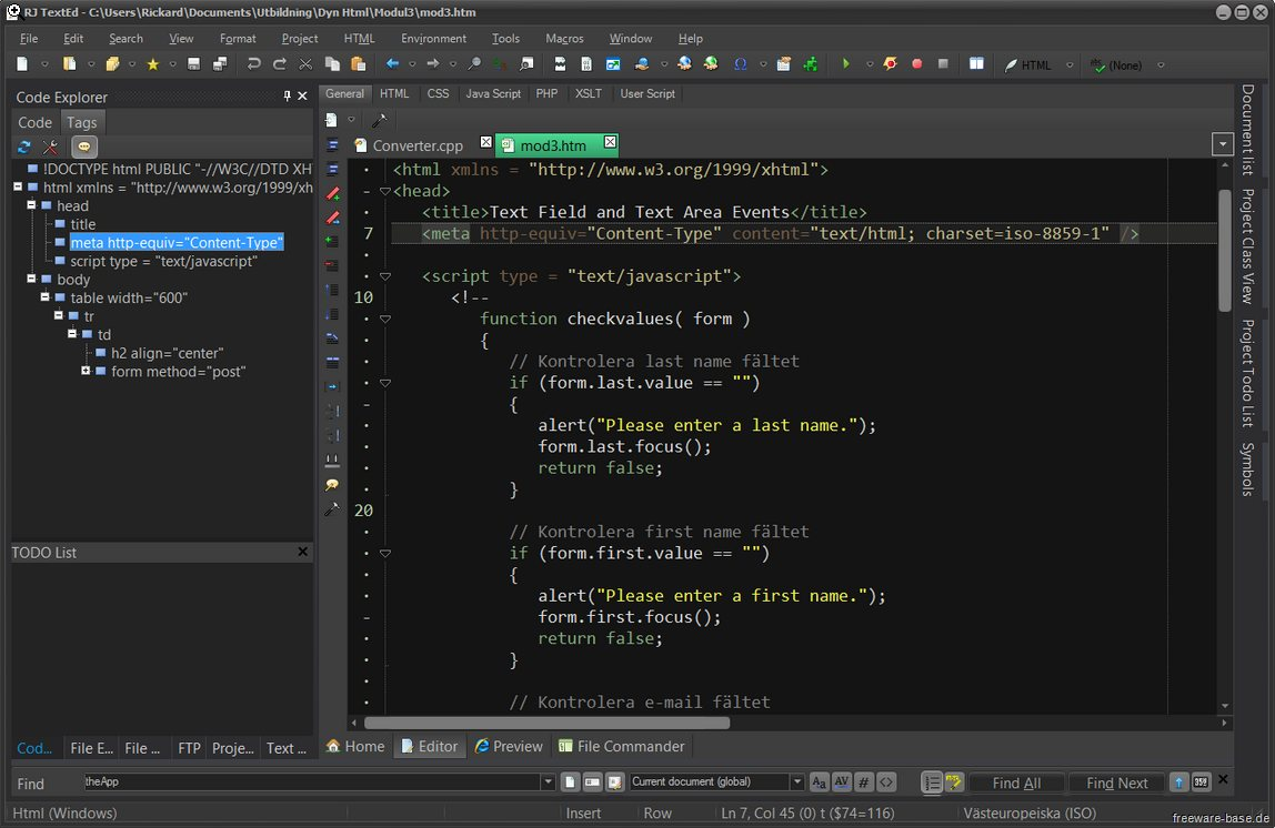Vorschau RJ TextEd and RJ TextEd Portable - Bild 2