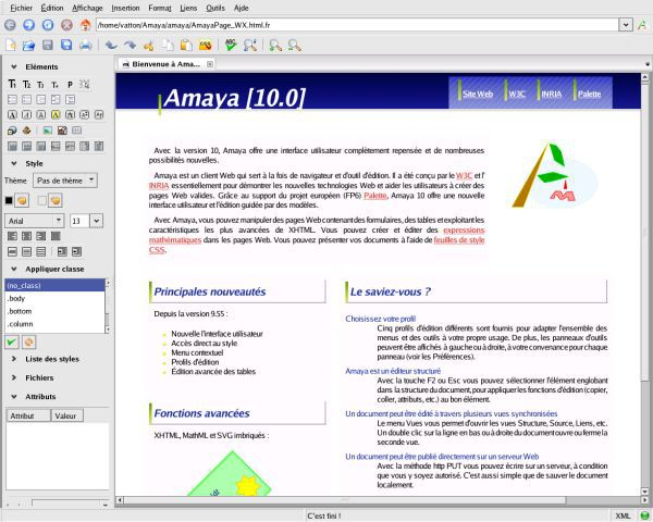Vorschau Amaya for Windows - Bild 2