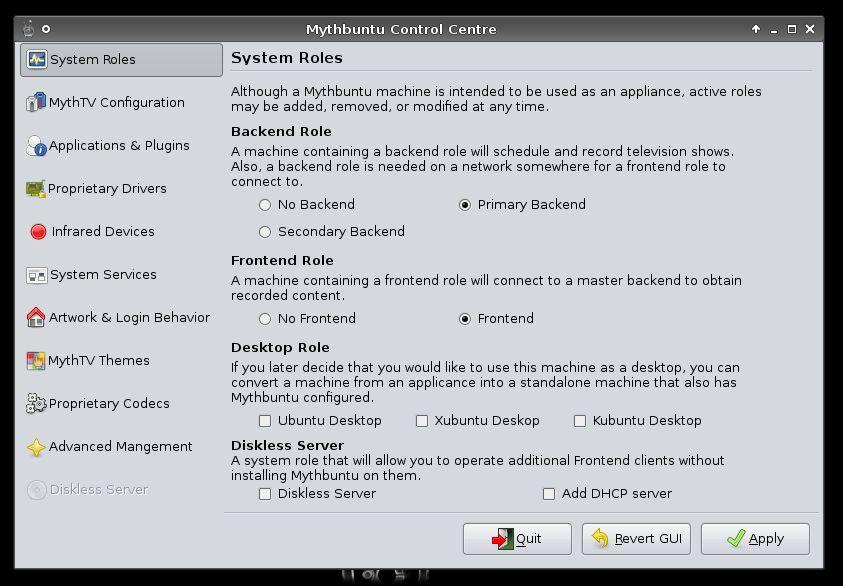 Vorschau Mythbuntu - Bild 2