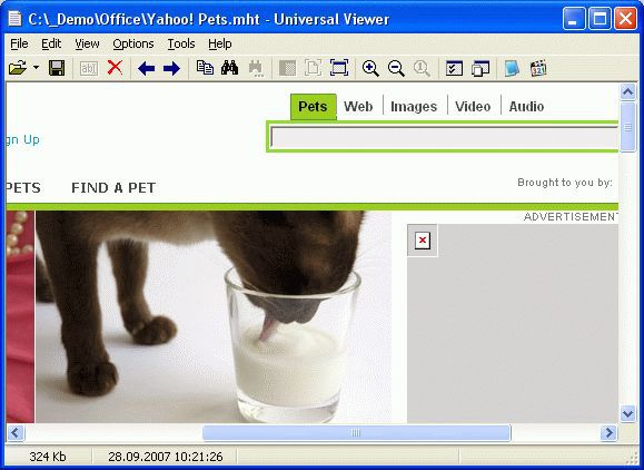 Vorschau Universal Viewer Free and Portable - Bild 2